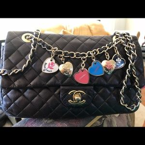 special edition Chanel valentine with double chain